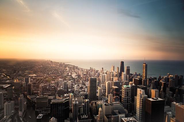 Großstadt in den USA